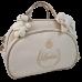 Bolsa Maternidade G Bege c/ Detalhes Ouro