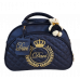 Bolsa Maternidade G Azul Marinho c/ Bordado Ouro