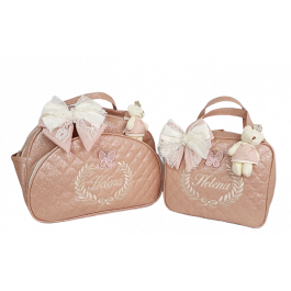 Kit Bolsa G + Frasqueira Térmica Rosé Gloss