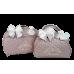 Kit Mala Maternidade + Bolsa G Rosa Antigo