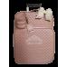Mala de Rodinhas G 360 Graus Rosé Gloss